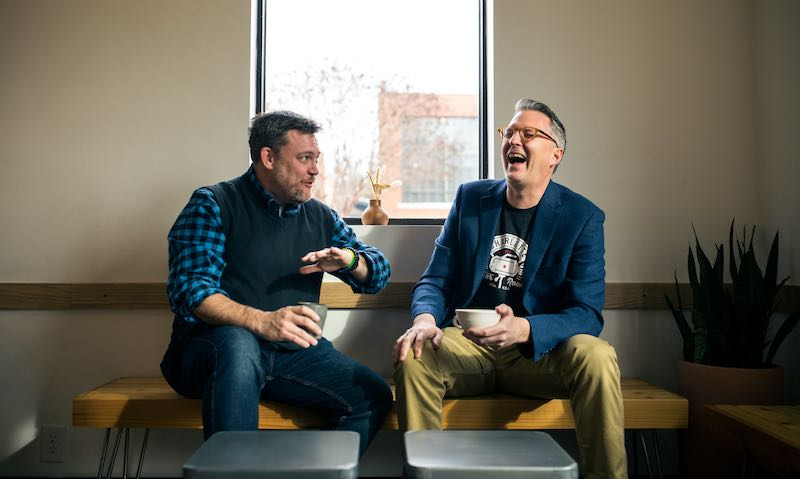 Mat Olin & Tim Miner, Co-Founders of Charlotte is Creative